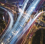 Sensor technology in roadway infrastructure
