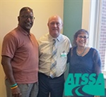 FMCSA rep visits ATSSA HQ to talk initiatives