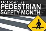 NHTSA declares October 'Pedestrian Safety Month'
